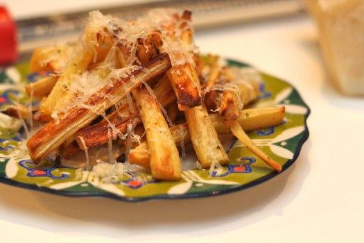 Parmesan Truffled Parsnip Fries...taste just like regular fries...I fooled my husband!