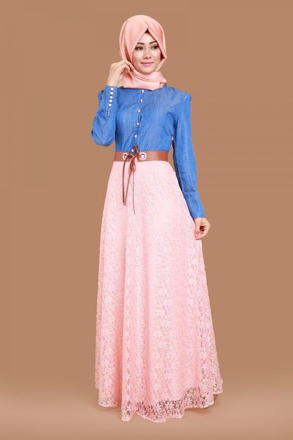 Benay Kot Detay Dantel Elbise Koyu Kot Somon Urun Kodu Msw09 109 90 Tl Lovely Dresses Dresses Fashion