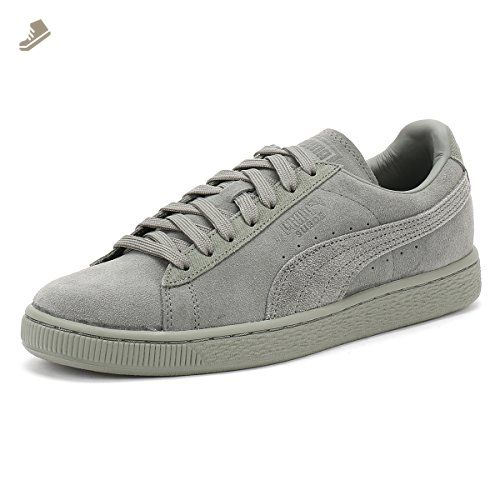 6301b38e81e Puma Suede Classic Tonal Unisex Trainers Green - 9 UK - Puma sneakers for  women ( Amazon Partner-Link)