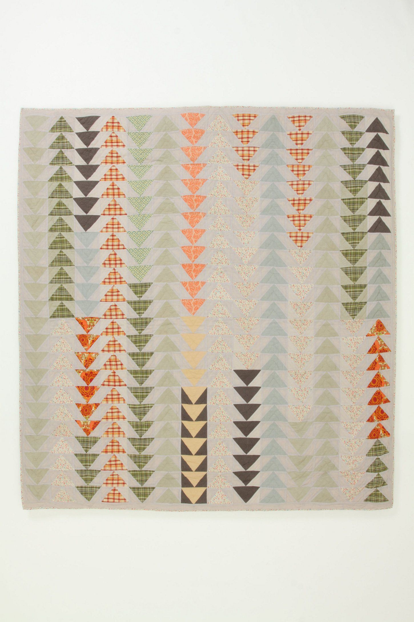 A.P.C. Semiologie Quilt, Flying Geese - Anthropologie.com