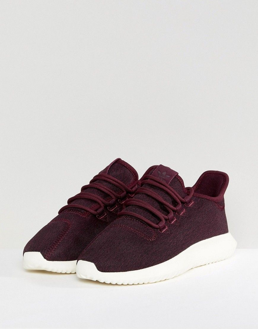 412a80994 adidas Originals Tubular Shadow Sneakers In Burgundy - Red ...