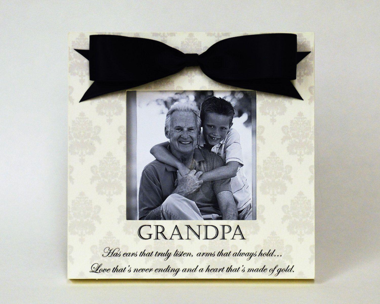 Grandfather Picture Frame Gift - Grandpa Birthday Grandchildren ...