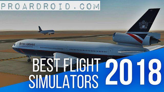 لعبة المحاكاة Flight Sim 2018 v1.1.5 Apk مهكرة كاملة