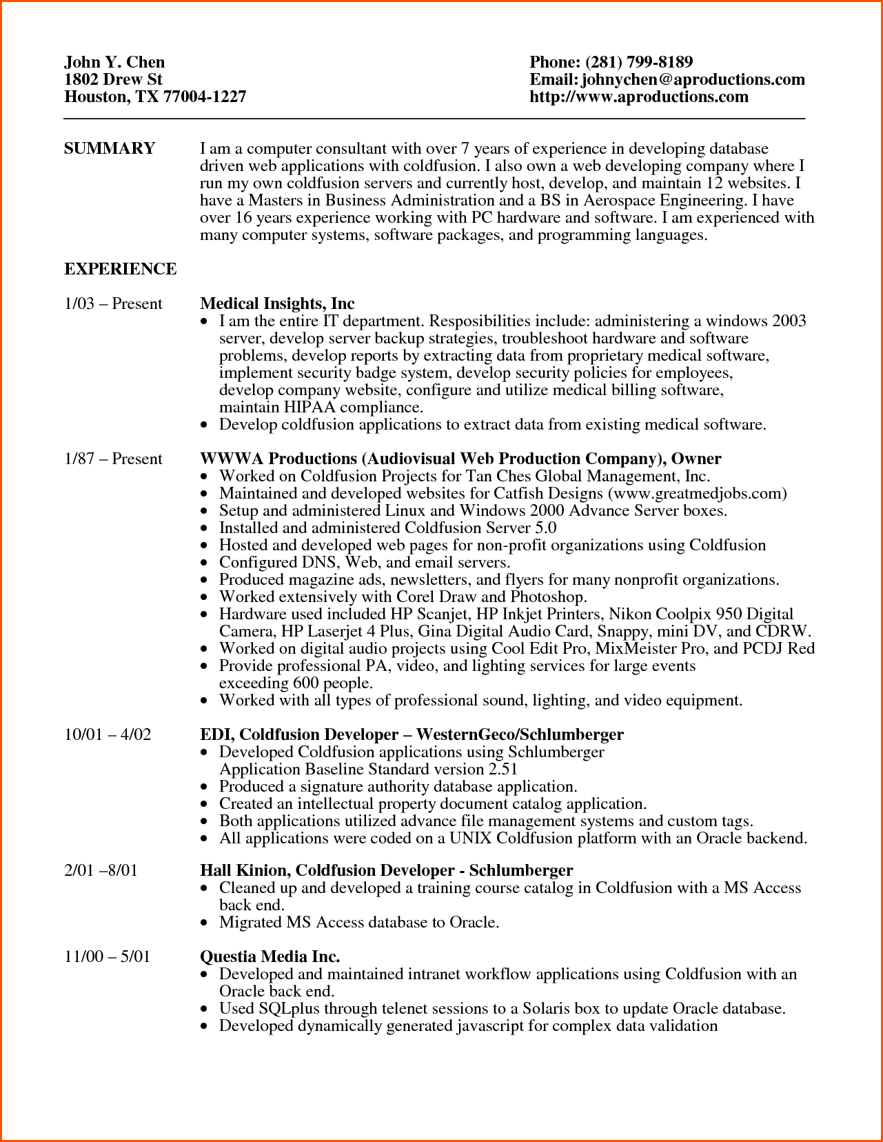 It Repair Sample Resume Impressive Computer Repair Technician Resume 100 Free Templates Best Resume .