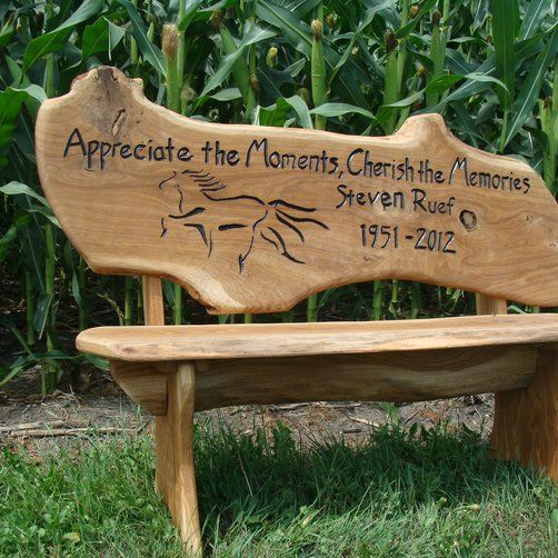 Prime A Memorial Bench Custommade Com Favorite Places Short Links Chair Design For Home Short Linksinfo