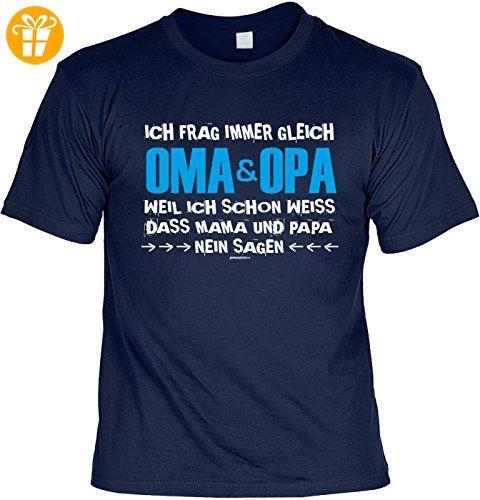 Grosseltern Spruche Tshirt Cooles T Shirt Oma Opa Ich Frag Immer Gleich Oma Opa Geschenk T Shirt Grossel Coole Shirts Lustige T Shirts Coole T Shirts
