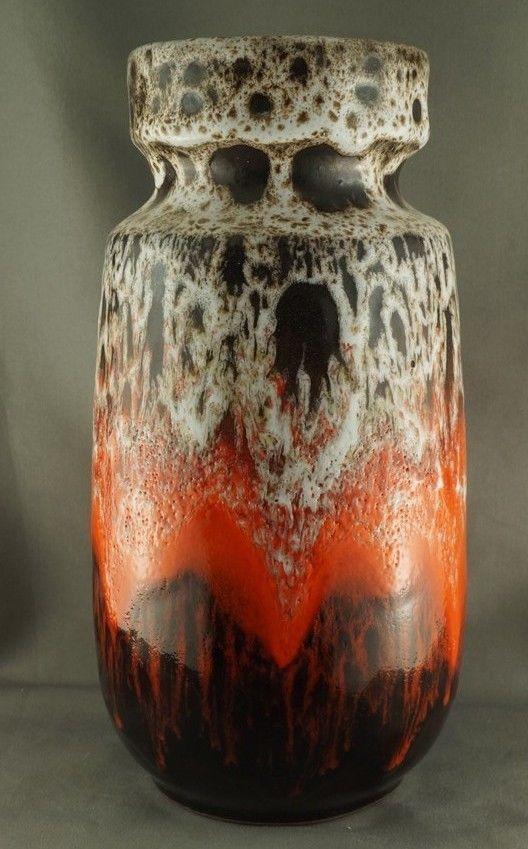 Bmp Blue Mountain Pottery Apollo Lava Drip Vase Pottery