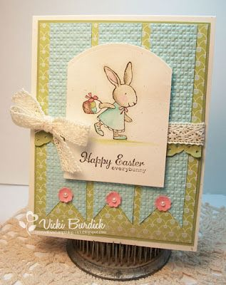 Everybunny stamp set - by Vicki Burdick, It's A Stamp  Thing  Stampin' Up!