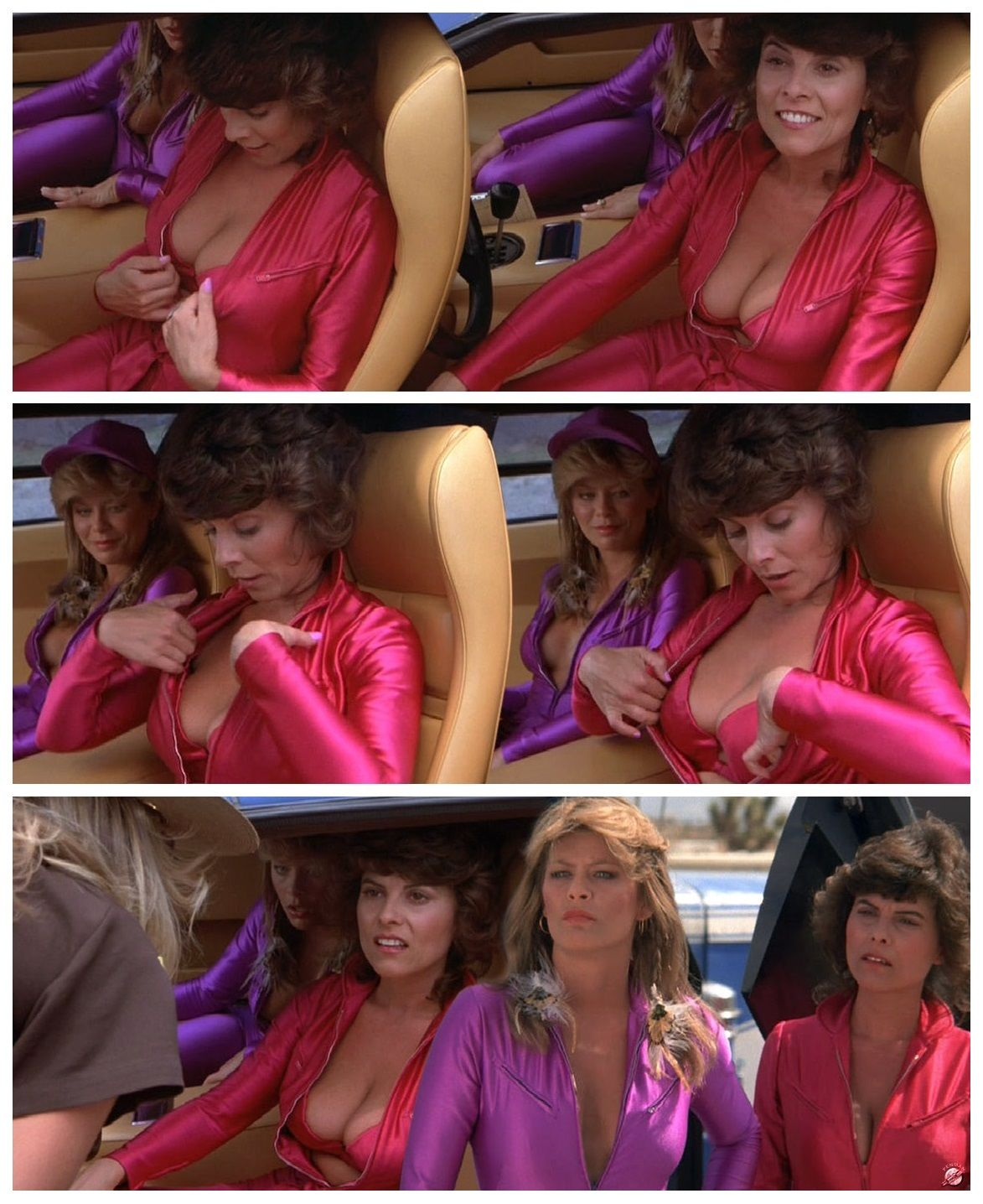 cannonball run barbeau Adrienne