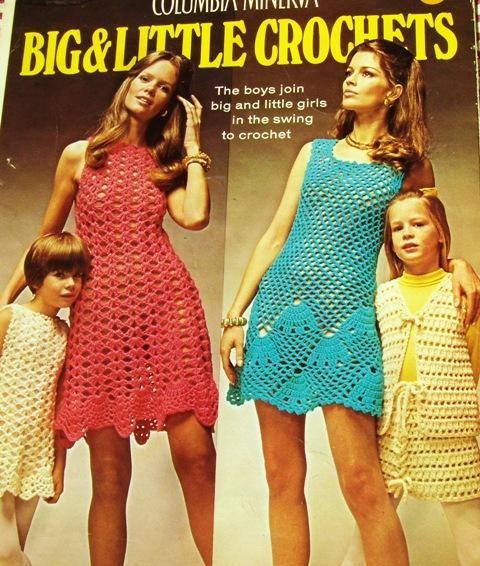 Free Crochet Maxi Dress Pattern | 70S CROCHET PATTERNS | Crochet ...