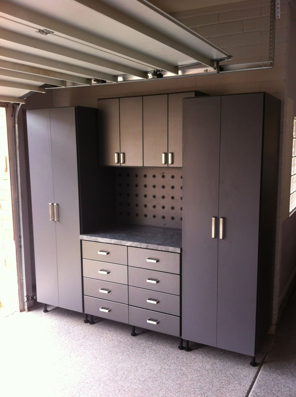 Pin By Closet Trends On Garage Cabinets Garage Cabinets