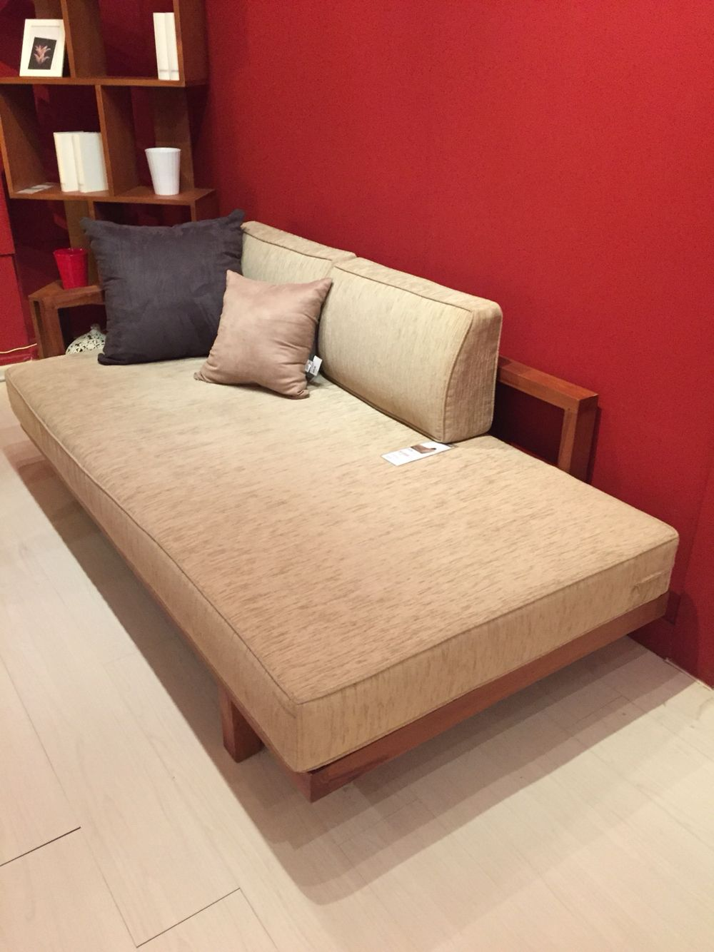 Scanteak Sofa Bed Home Ideas Pinterest Small Apartment Samdi Headset Wooden Stand Holder Rak Headphone Or Gantungan Decorating Daybed Apartments Sleeper