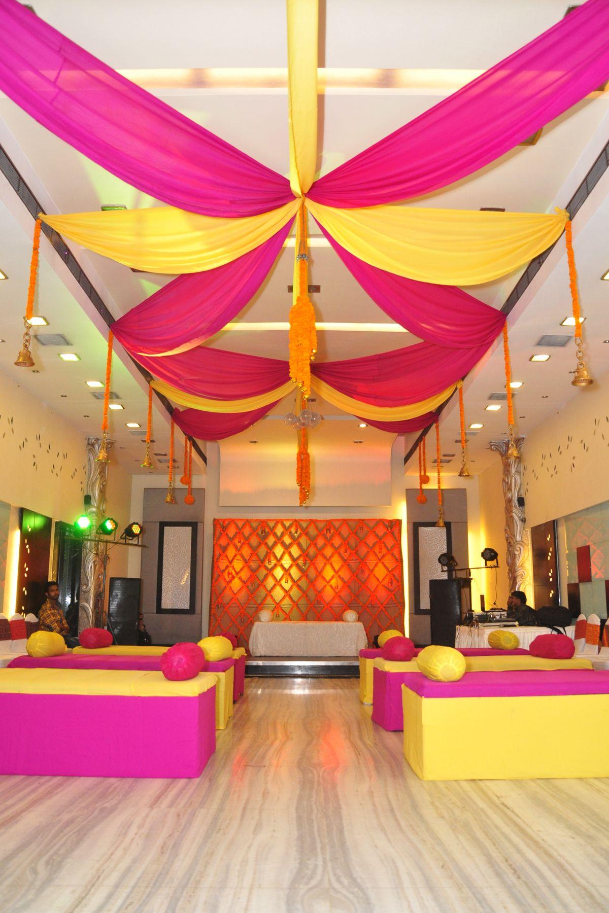 Ceiling drapes   Wedding decorations, Home decor, Drapes
