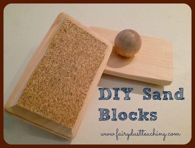 Diy sand blocks fairy dust teaching this would be a fun