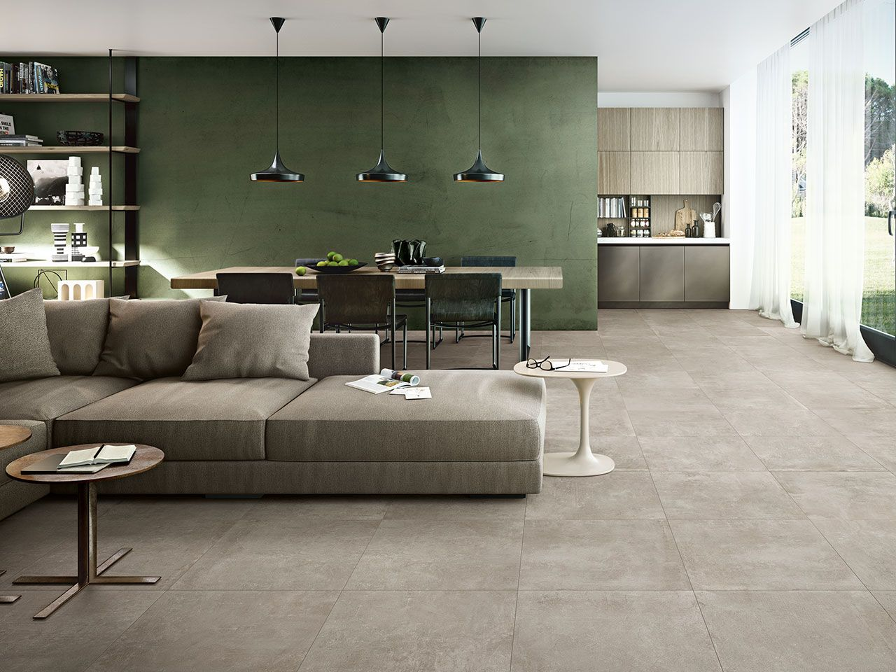 Gres porcellanato effetto cemento street grey mm