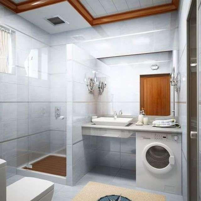 Arredare Un Bagno Piccolo Quadrato Laundry In Bathroom Bathroom