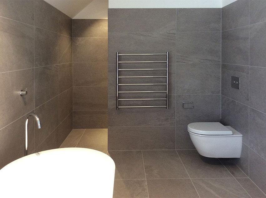 large format tiles - Google Search | Master Bathroom | Pinterest ...
