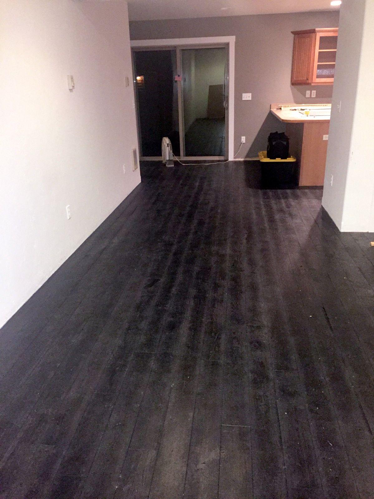 Similar To Shou Sugi Ban Burnt Wood Flooring Our Charcoal Color Is The Darkest Floor We Offer Shown Here Rustic Wood Floors Reclaimed Wood Floors Flooring