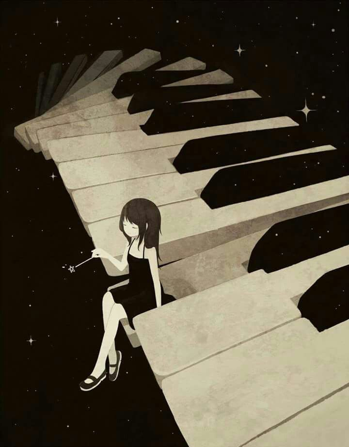 Pin by ruth mottl on piano piano art anime music anime