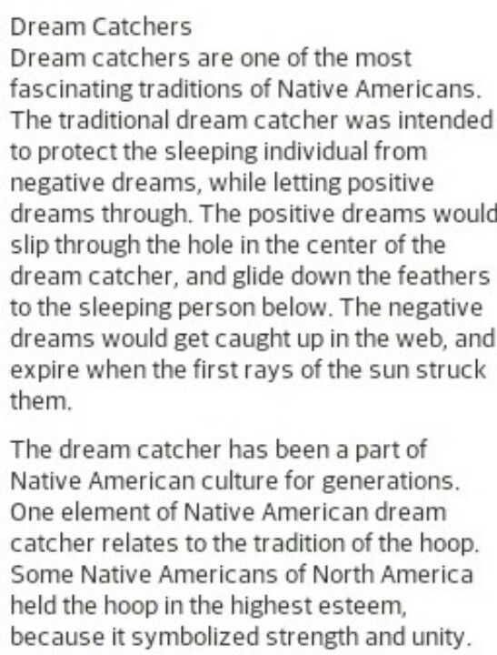 History Behind Dream Catchers The story behind Dream Catchers My Freedom Pinterest Dream 1