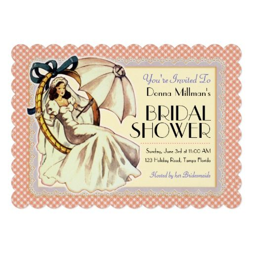 Very vintage bridal shower invitation template invitation very vintage bridal shower invitation template filmwisefo Image collections