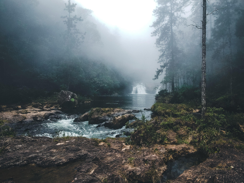 Moody landscape photography