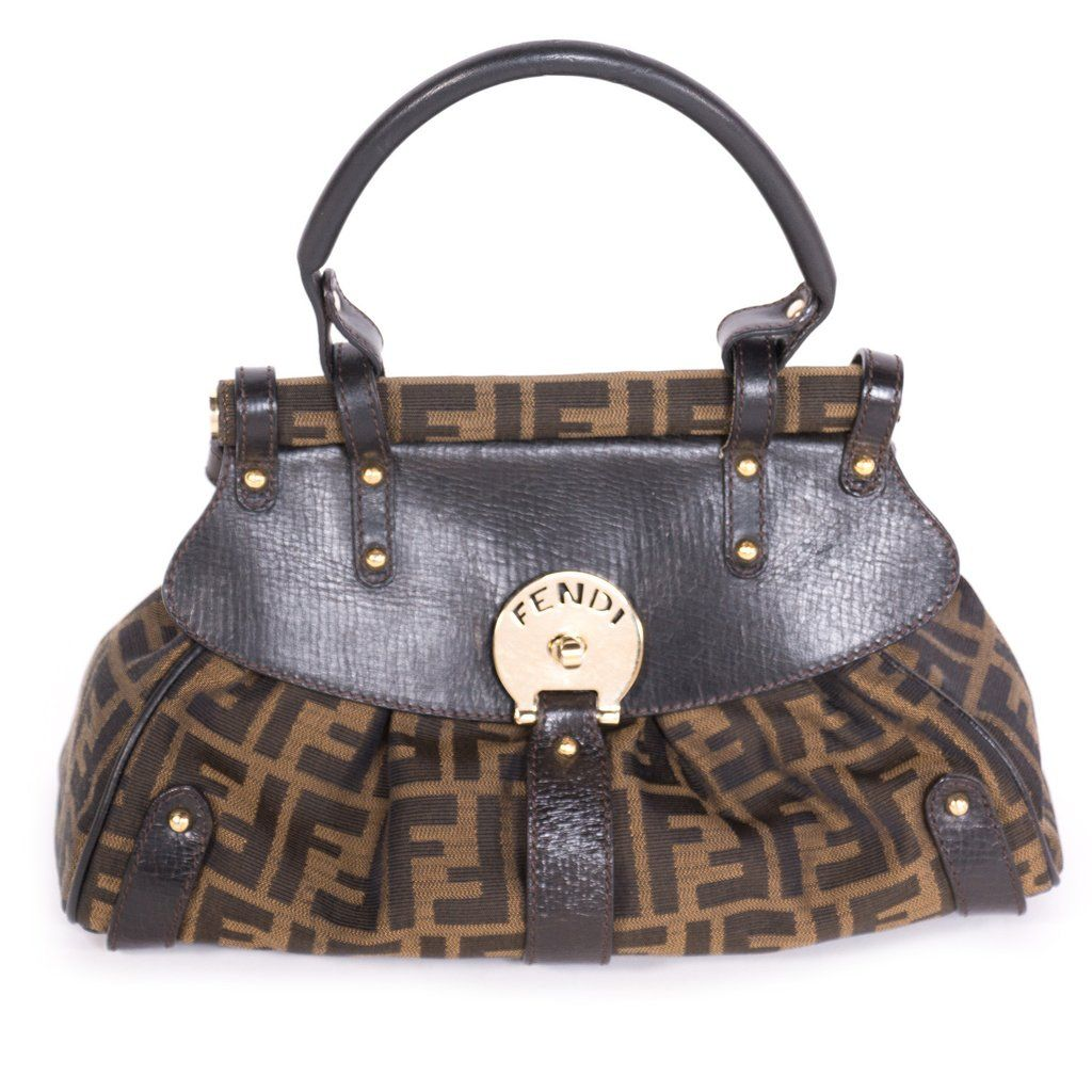 4d953dcaad Shop authentic Fendi Zucca Mini Magic Bag at revogue for just USD ...