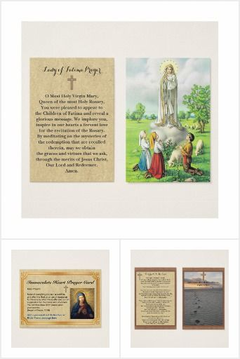 Personalized Prayer Cards Large Business Card Sized Prayercards