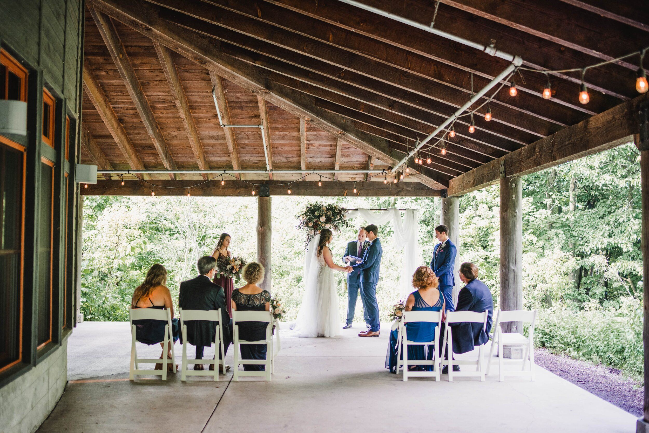Paige and James at Schlitz Audubon in bayside,WI — La