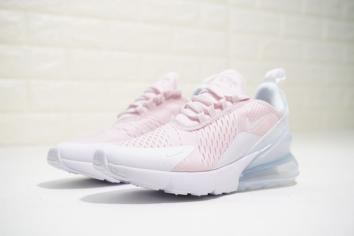 Nike Air Max 270 Light PinkPure White en 2019