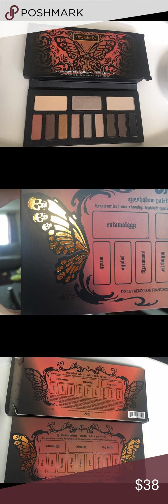 Kat Von D Monarch palette Brand new in box. Ships tomorrow! Kat Von D Makeup Eyeshadow