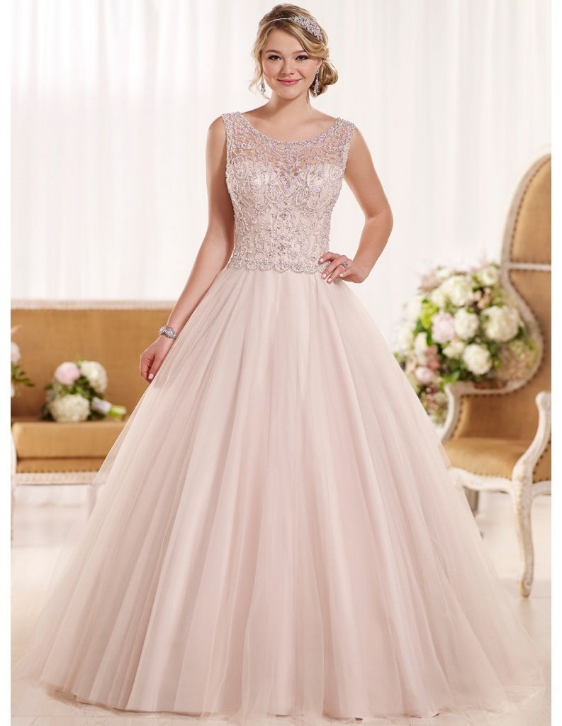 A line wedding dresses plus size  pink wedding dress plus size  dresses for wedding party Check more