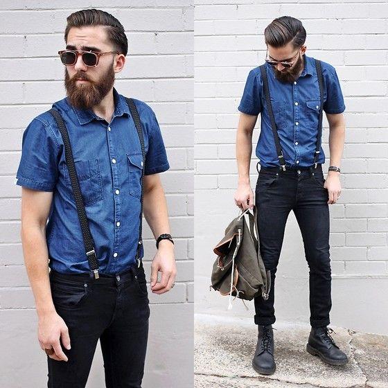 jack jones shirt dr denim jeanmakers black jeans dr martens black boots le style masculin. Black Bedroom Furniture Sets. Home Design Ideas