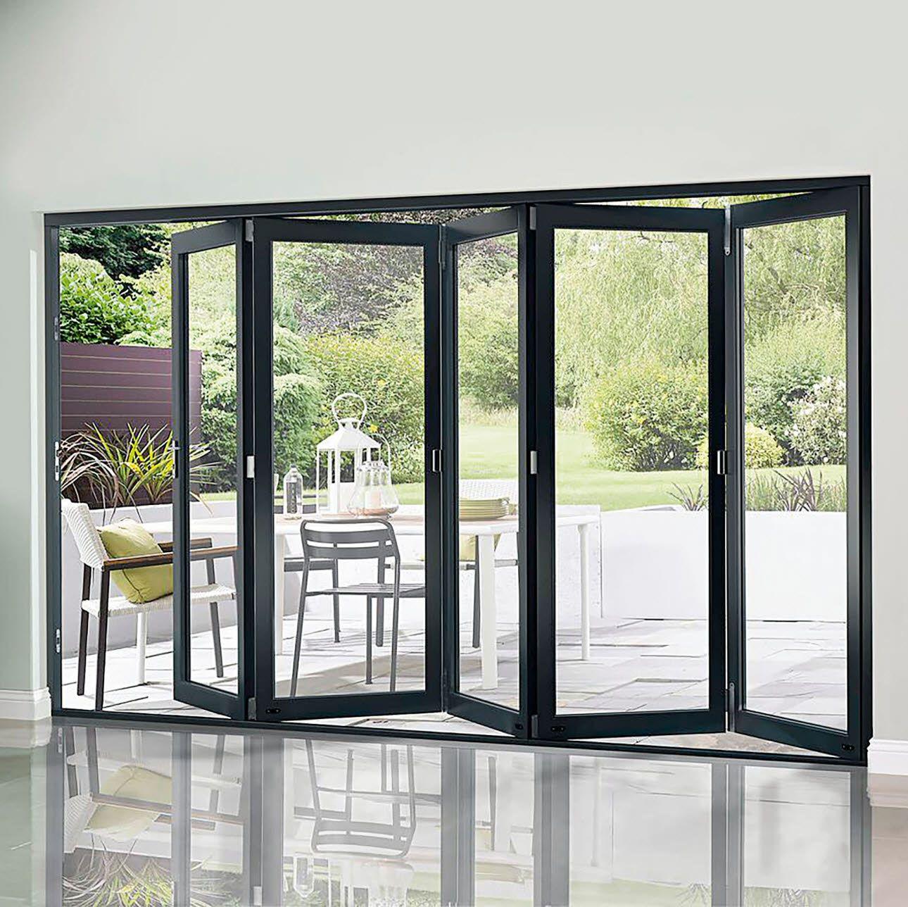 Pin By Cheryl Carey On Self Build Windows Glass Doors Patio Folding Doors Exterior Folding Glass Doors