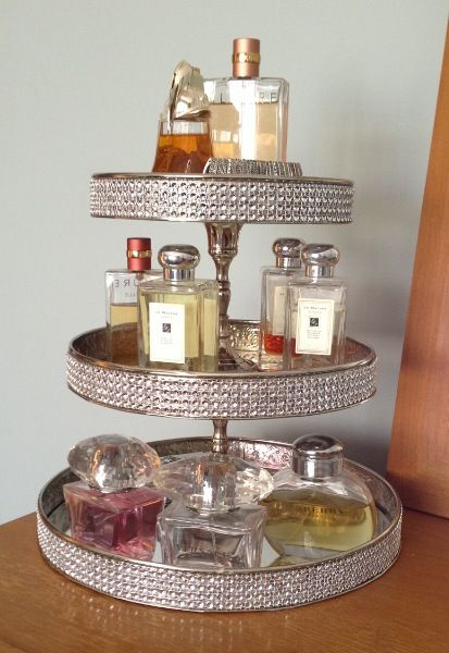 3 Layer Perfume Tray Everything Beauty Perfume Tray