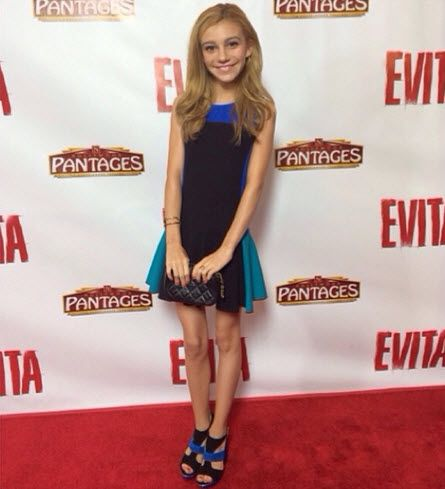 "Pics: G Hannelius Gorgeous At The Premiere Of ""Evita"" At ...