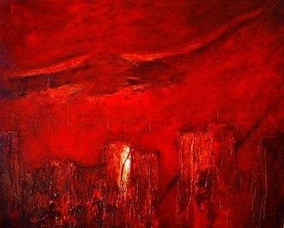 abstrakte malerei rot bilder in 2019 pinterest malerei abstrakt und abstrakte malerei. Black Bedroom Furniture Sets. Home Design Ideas