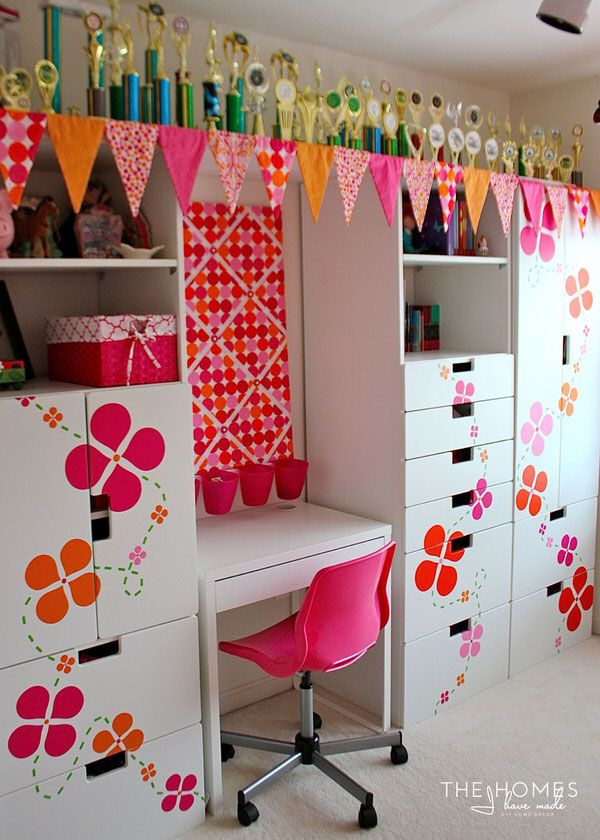 51 Ways To Diy The Bedroom Of Your Kids Dreams: 30 Home Decor Projects You Can Make With A Cricut Explore