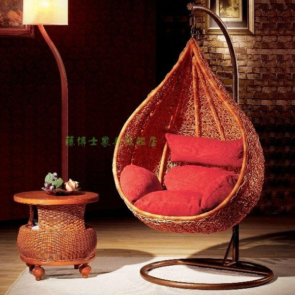 Indoor Hanging Chair U2013 Simple Rattan Furniture Rattan Shook His Chair Rattan  Hanging