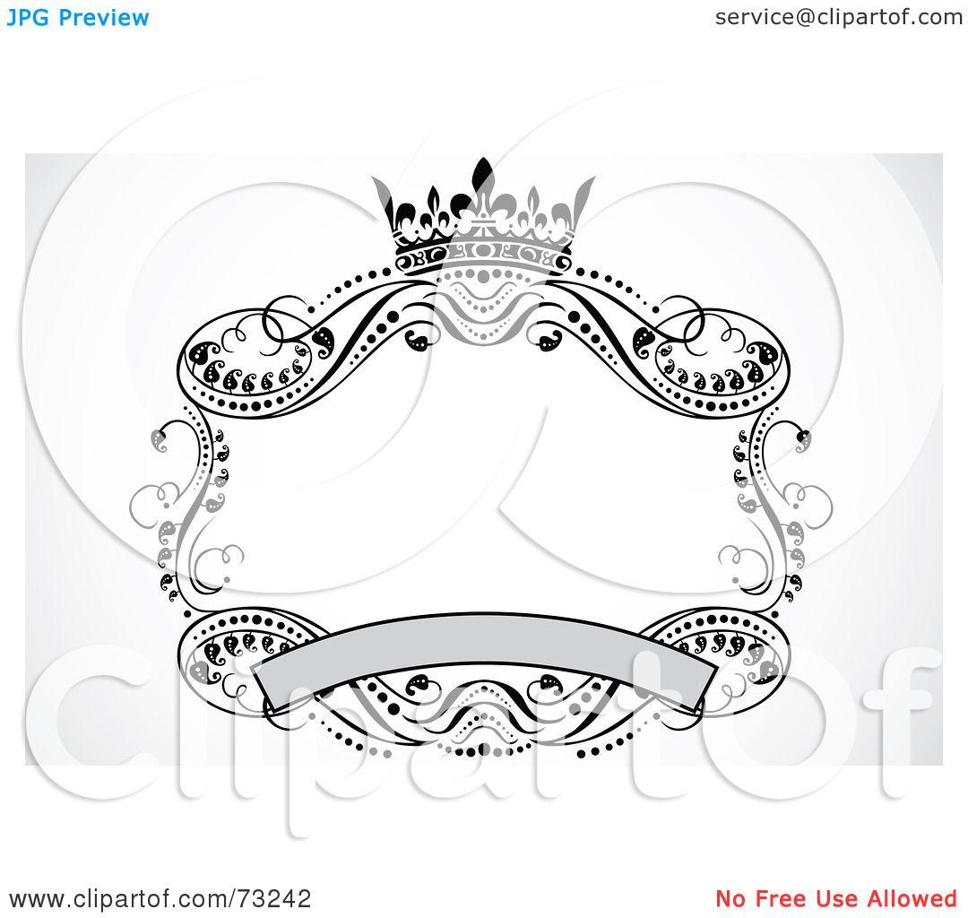 Elegant Scroll Clip Art