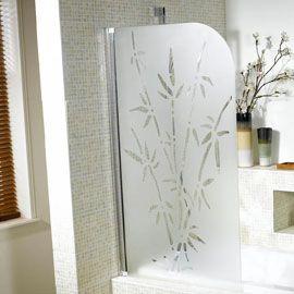 pare baignoire 1 volet bambou equipements sanitaire baignoire salle de bain et baignoire. Black Bedroom Furniture Sets. Home Design Ideas