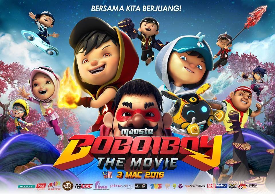 Boboiboy The Movie 2016 CAM 300Mb Movies 2016, Boboiboy