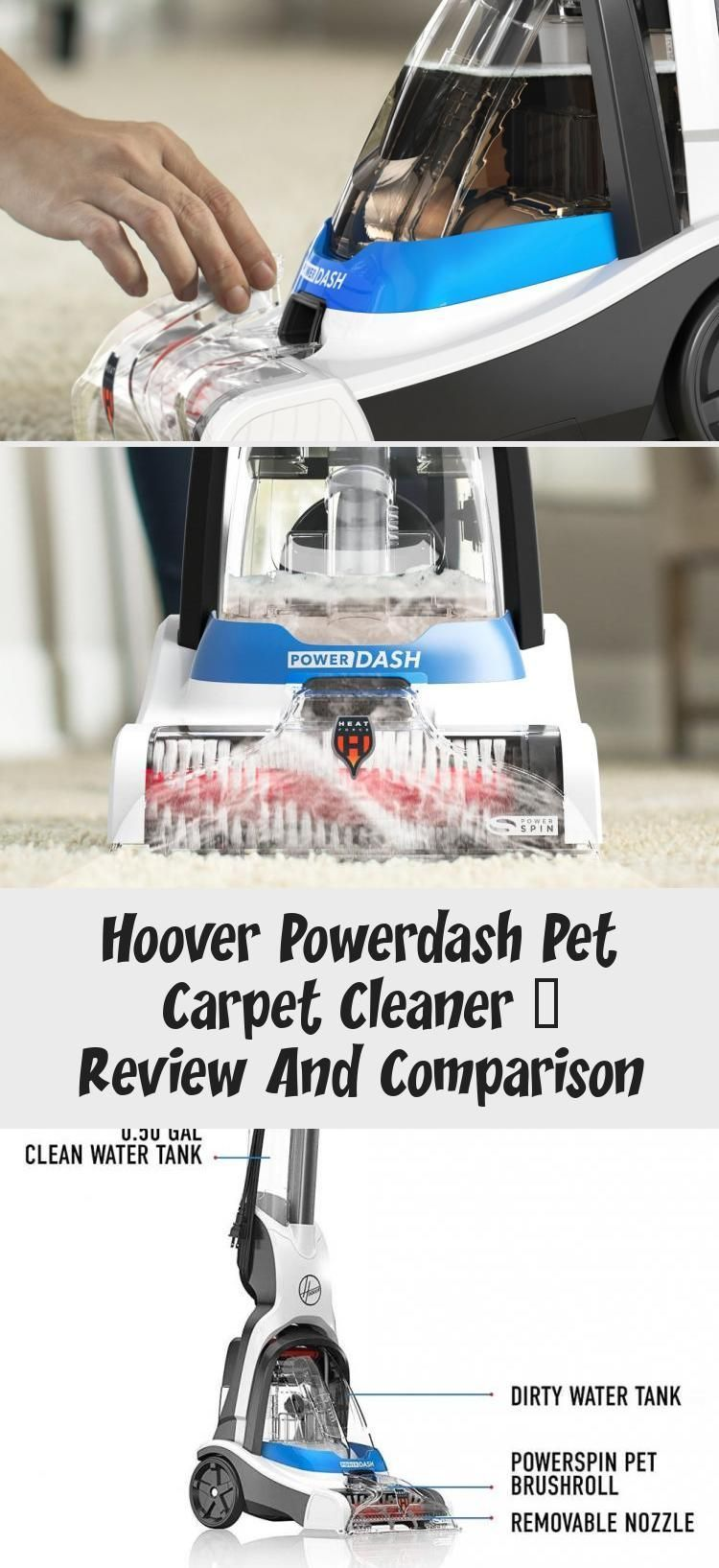 Hoover PowerDash Pet Carpet Cleaner review and