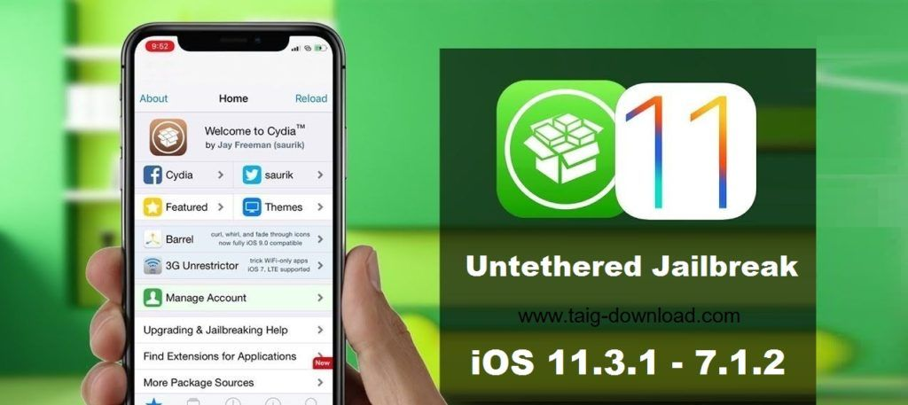 Taig Jailbreak updated for latest iOS 11 3 1 update  If you