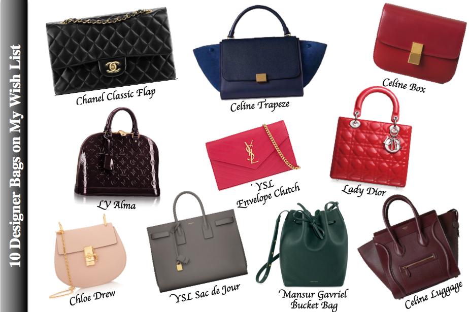 70e28636843e Top 10 Designer Handbags on My Wish List