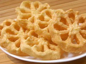 Resep Dan Cara Membuat Seroja Kue Kembang Goyang Jdsk Resep Makanan Makanan Dan Minuman