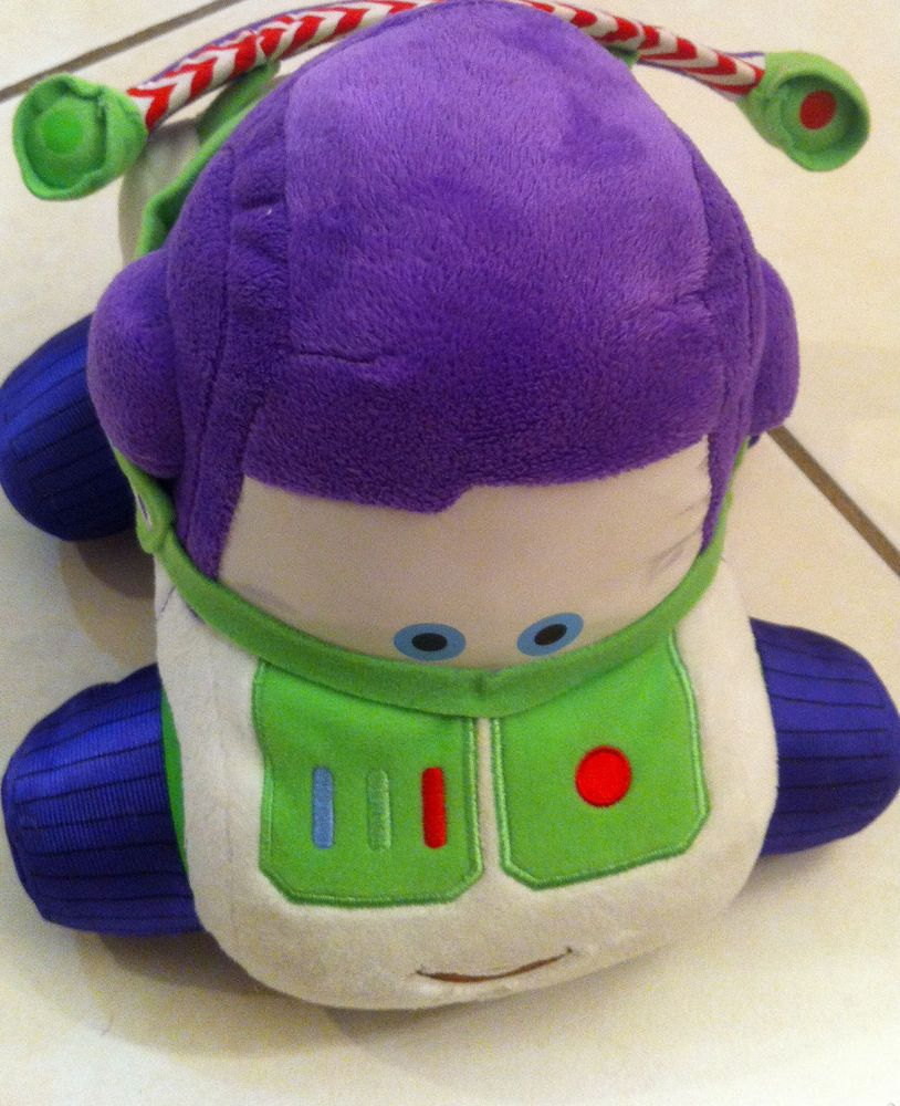 "Disney Cars BUZZ Lightyear Toy Story Plush 9"" x 9"""