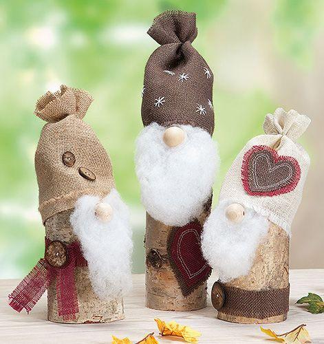 weihnachtswichtel aus holzst mmen google suche weihnachten pinterest holzstamm. Black Bedroom Furniture Sets. Home Design Ideas