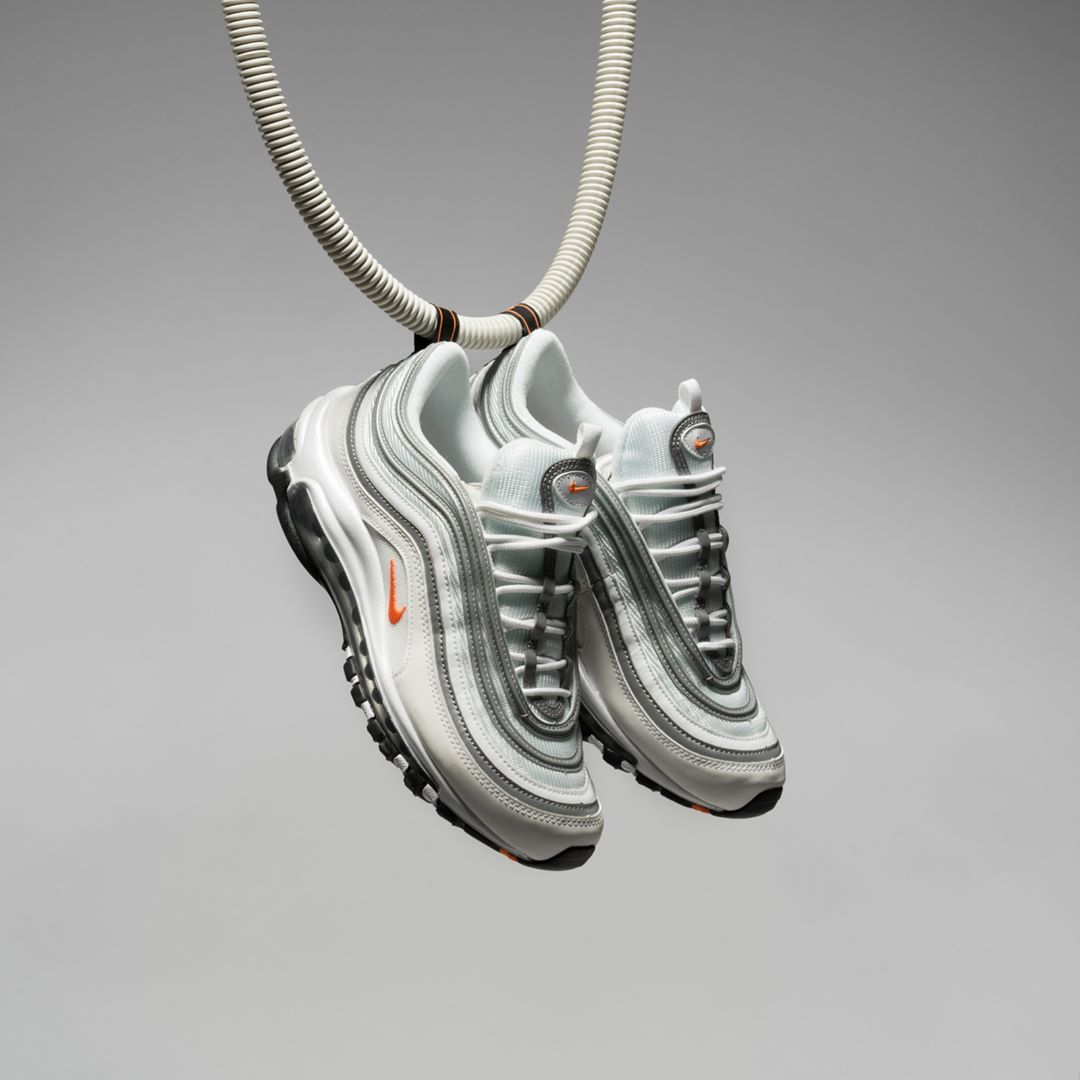 outlet store 4a761 9e01a The Nike Air Max 97 WE in white cone is available now online on ⏩ www.bstn.com  ⏪ bstn  bstnstore  nike  airmax97  we