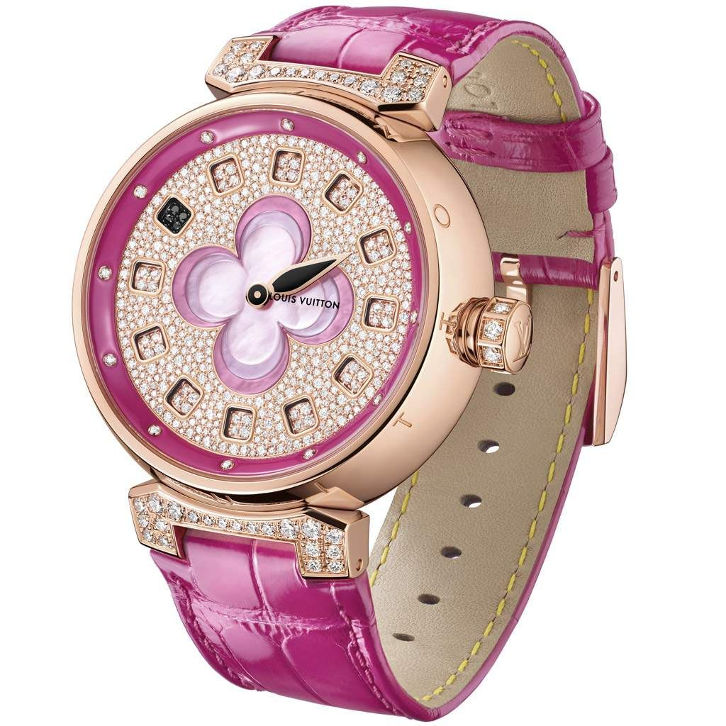 Louis Vuitton Tambour Color Blossom Spin Time